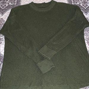 American Eagle Outfitters Army Green Sweater M